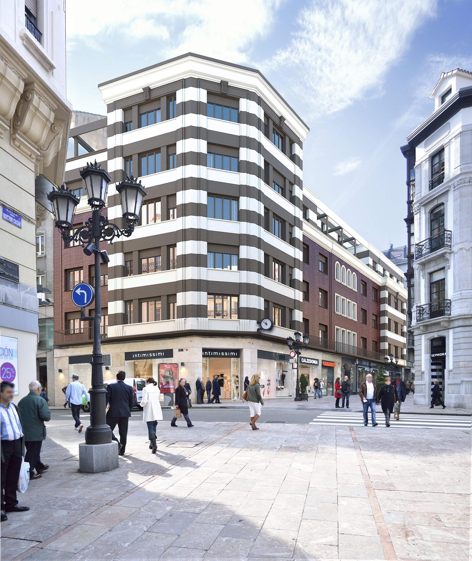 Edificio de viviendas – c/ Doctor Casal