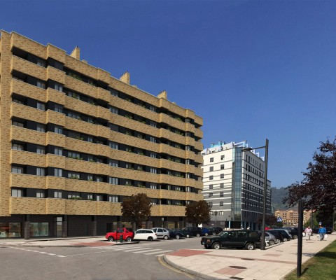 Edificio de viviendas en La Tenderina – Oviedo