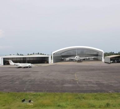 Hangar Boeing 777 Pisa